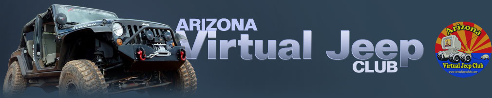 Virtual Jeep Club - Arizona's Largest Off-road Comm